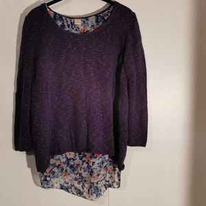 🌹 2 for $30 💘 Lucky Brand sweater, size M